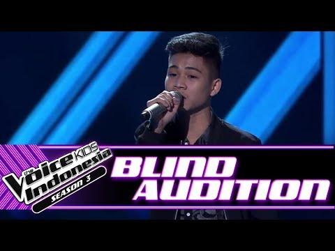 Erwyn - Lebih Indah   Blind Auditions   The Voice Kids Indonesia Season 3 GTV 2018