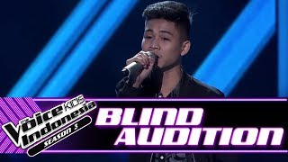 Erwyn - Lebih Indah | Blind Auditions | The Voice Kids Indonesia Season 3 GTV 2018