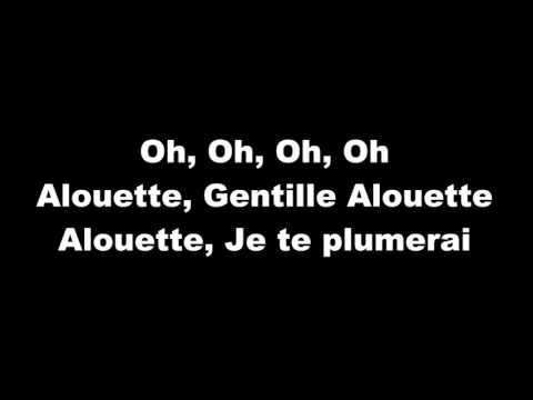 Alouette - lyrics