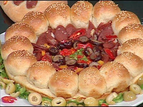 طريقه عمل البيتزا للشيف نونا علي فوود