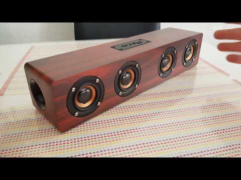 Vintage CAHAYA Bluetooth Lautsprecher 12W