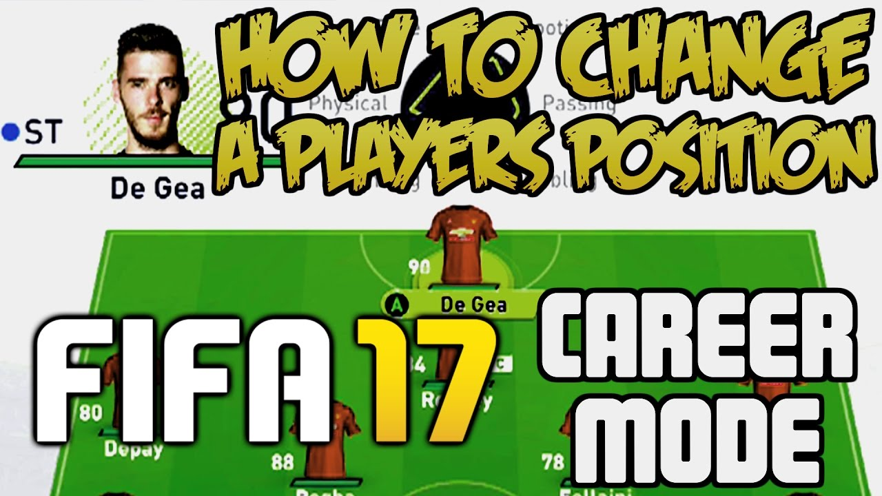 HOW TO CHANGE A PLAYERS POSITION IN FIFA 17 CAREER MODE! | FIFA 17 ... HOW TO CHANGE A PLAYERS POSITION IN FIFA 17 CAREER MODE! | FIFA 17 TIPS AND TRICKS!