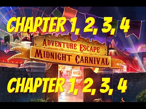 Adventure Escape: Midnight Carnival Mystery Story | Chapter 1, 2, 3, 4 Gameplay Walkthrough