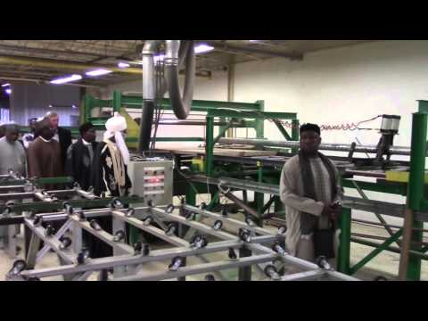 Emir Sanusi and Nigerian Delegation Tour IGS Manufacturing