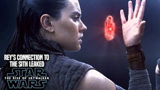 Rey's Connection To The Sith Revealed In The Rise Of Skywalker! (Star Wars Episode 9)