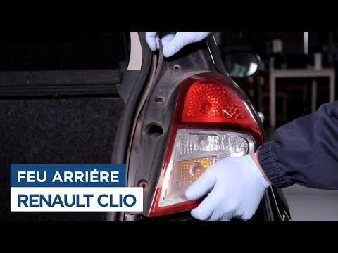 grosses soldes choisir l'original nouveau style de 2019 Changer le Feu Arrière - Renault Clio 3 - YouTube