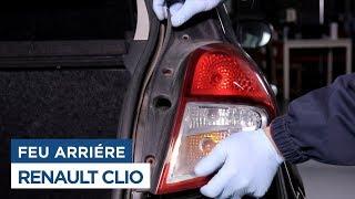 Changer le Feu Arrière - Renault Clio 3
