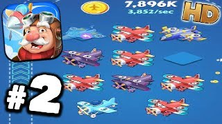 Merge Plane Gameplay #2 - NEW PLANES UNLOCKED - Walkthrough Android - GPV247