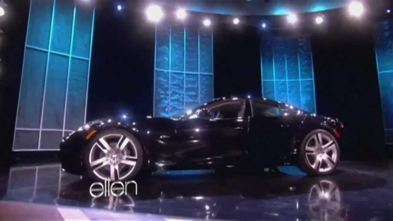 Justin Bieber Gets Sports Car On The Ellen DeGeneres Show For Th - Ellen degeneres show car giveaway