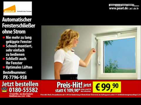 winflip fensterschlie er ohne strom doovi. Black Bedroom Furniture Sets. Home Design Ideas