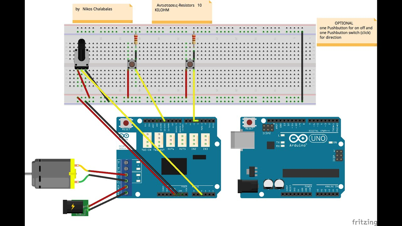 Arduino Motor Shield Wiring Diagram - Download Wiring Diagrams •