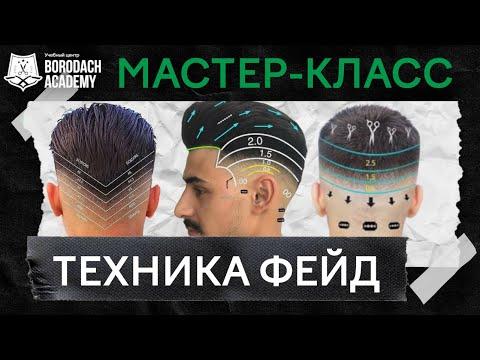 Мужская стрижка Фейд (Fade)   Мастер-класс по технике Фейд (Fade)   Курсы для парикмахеров