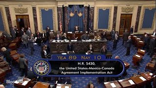 Senate Passes USMCA, Handing Trump a Win