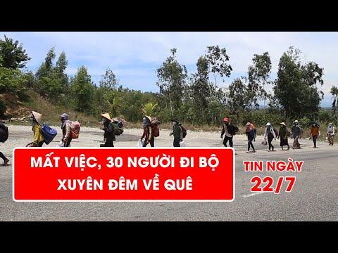 Nghẹn ngào: Mất việc, 30 người đi bộ xuyên đêm về quê | Video AloBacsi