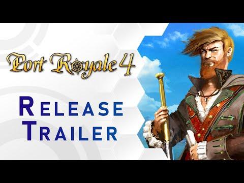 Port Royale 4 - Release Trailer (DE)
