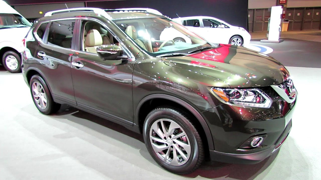 2014 Nissan Rogue Sl Awd Exterior And Interior