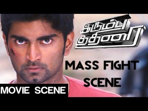 Irumbu kuthirai - Mass Fight Scene | Atharvaa | Priya anand | Yuvaraj Bose