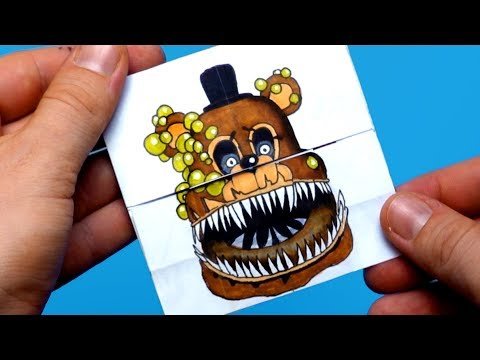 TUTORIAL Five Nights at Freddy's Twisted Animatronics Transformations | Endless card