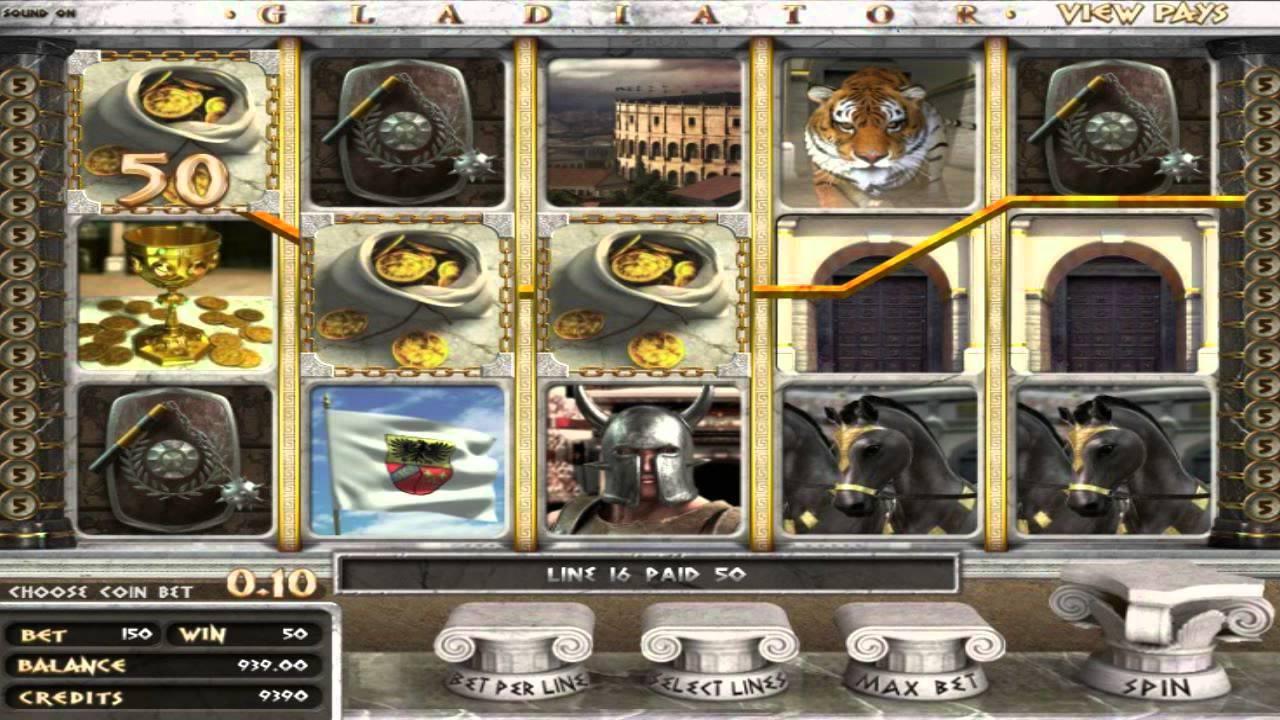 Free online slot machine games gladiator