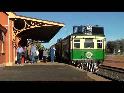 Tin Hares from the Outback - ARE/TRMS Cobar Tour: Australian Trains