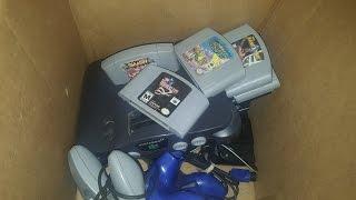 Buscando videojuegos en venta de garaje (ep. 16) Lote del N64