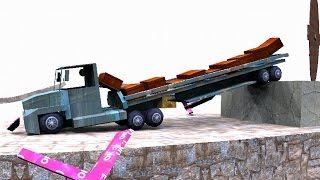 Tricky Truck - Medium Road 016 Level - With the 18 Wheeler Semi