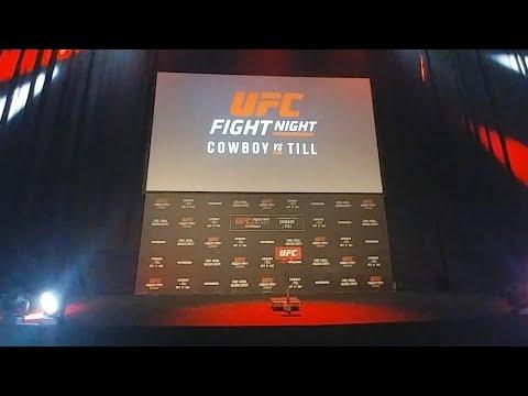 Ważenie UFC Gdańsk