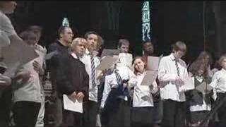 Recording choir of St Mary's Cathedral Edinburgh Scotland