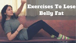 5 Exercises To Lose Belly Fat At Home | Workouts That Burn Belly Fat At Earliest | WORKitOUT
