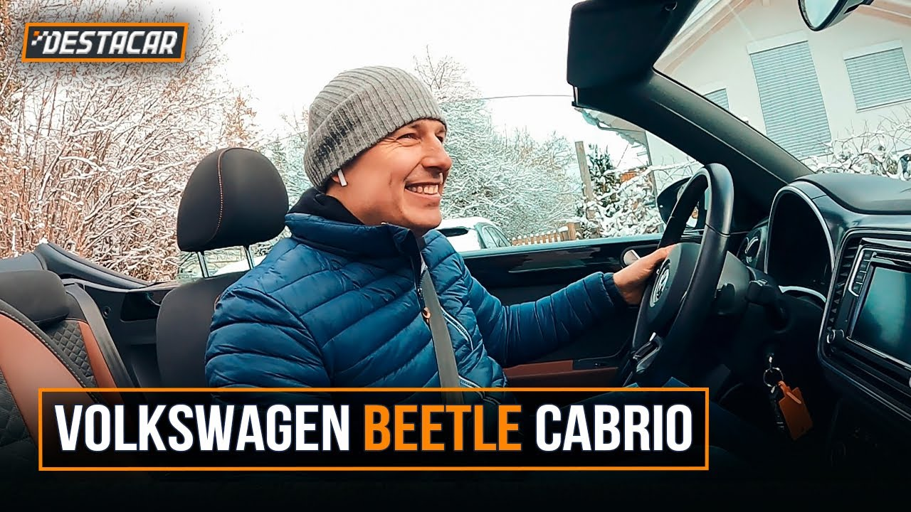 Осмотр VW Beetle Cabrio
