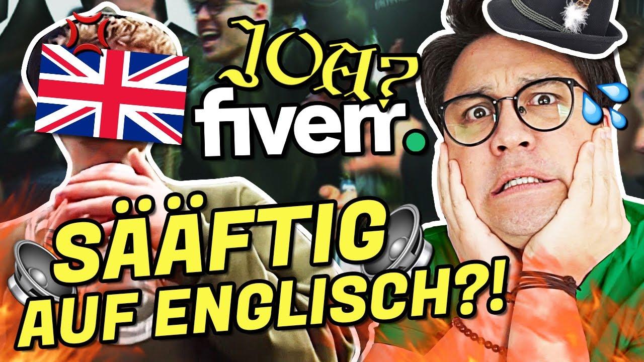 SÄÄFTIG auf ENGLISCH mit FIVERR produzieren?!   Vincent Lee