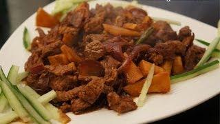 Asian Beef & Bamboo Shoots In Hoi Sin Sauce Recipe - Hoisin