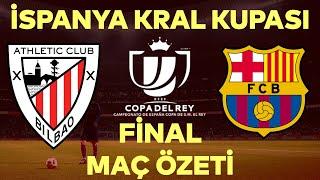 Kral Kupası Barcelonanın  Athletic Bilbao 0-4 Barcelona