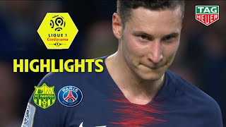 FC Nantes - Paris Saint-Germain ( 3-2 ) - Highlights - (FCN - PARIS) / 2018-19