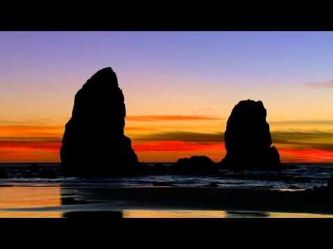Cannon Beach - Brilliant Oregon Sunset in HD