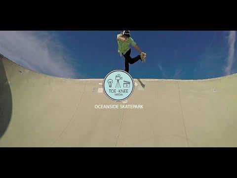 Oceanside Skate park - GoPro 120fps : TOEKNEE MEDIA