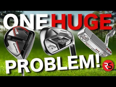 The HUGE Problem With Modern Golf Clubs.....