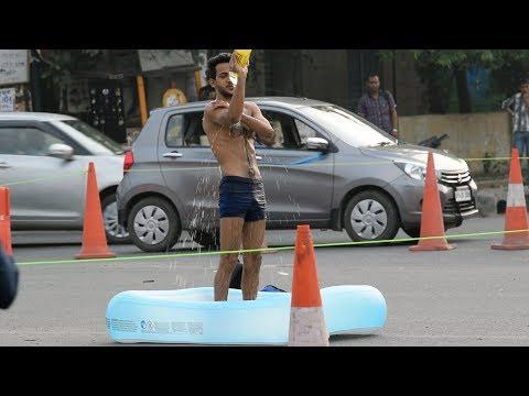 Taking Bath In Public Prank | Prank In India By Vinay Thakur | AVRprankTV