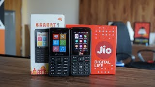 Micromax Bharat 1 vs JioPhone - Which is a better feature phone?
