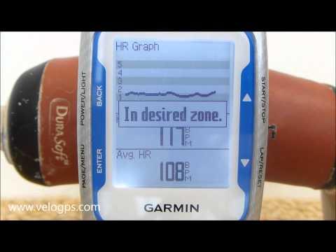 Garmin Edge 500 Workout