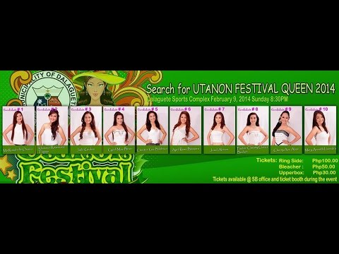 Municipality of Dalaguete - Utanon Festival Queen 2014 Pageant Night