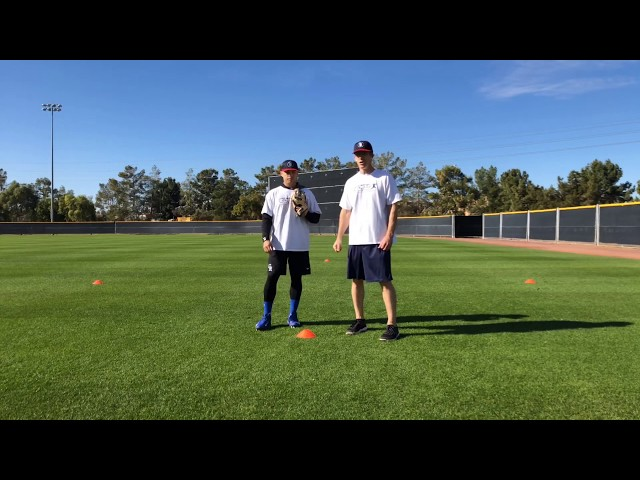 Outfield Fly Ball Diamond Drill