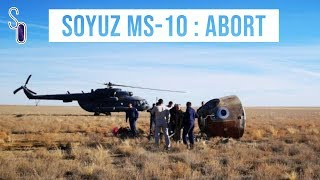 🔥 Soyuz MS-10 : débrief de l