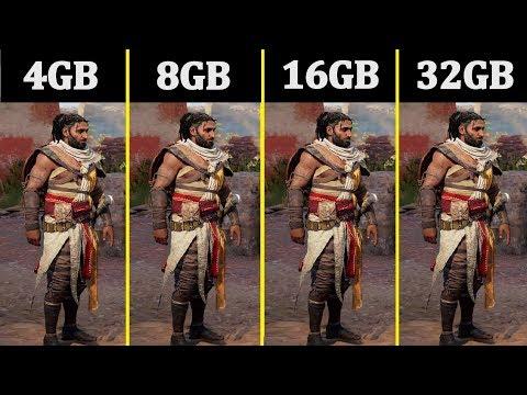 DDR4 4GB Vs 8GB Vs 16GB Vs 32GB | Comparison |