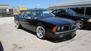 1989 BMW 635CSi L6 5 Speed | Full Tour & Start Up