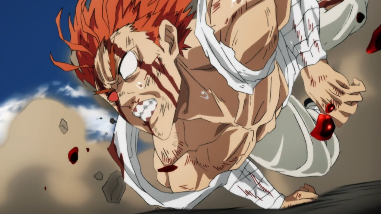 Garou Vs Bang One Punch Man Season 2 Episode 12 Youtube