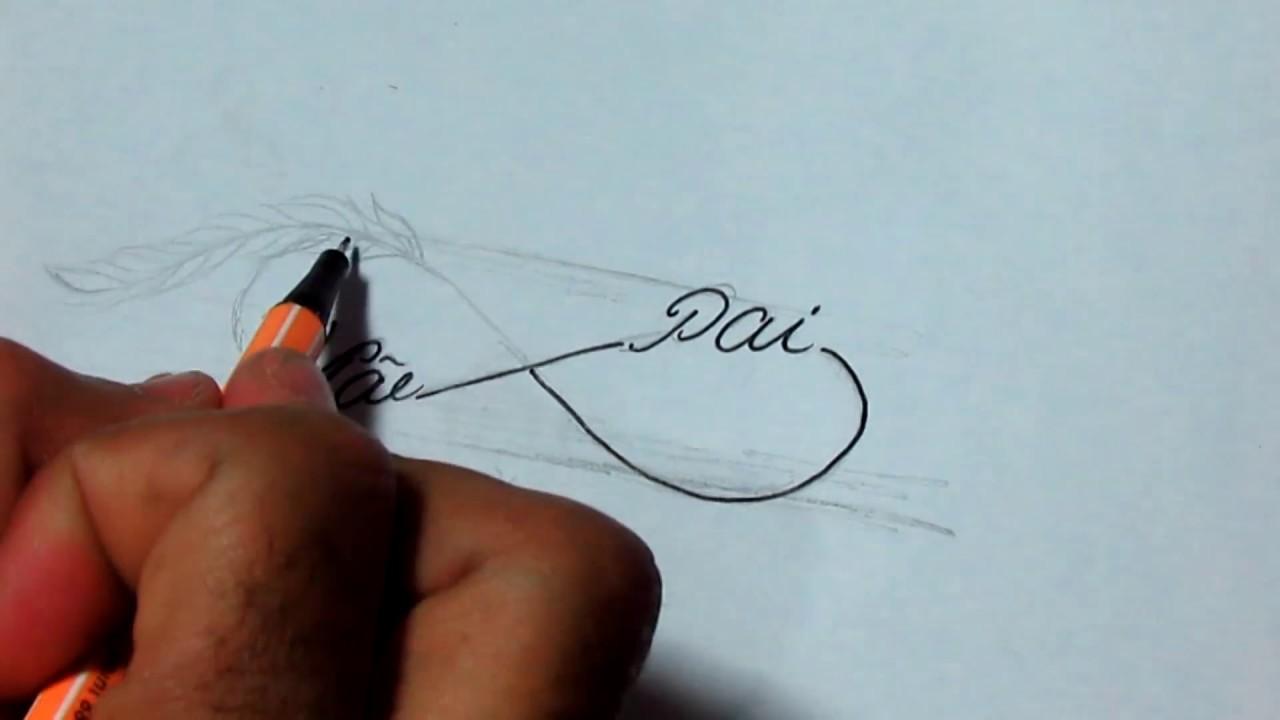 Desenhando Um Infinito Para Tatuagem Youtube