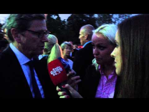 Außenminister Guido Westerwelle im Interview mit Radio Gong 96,3 München