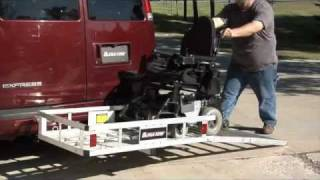 Ultra-Tow Aluminum Cargo Carrier with Ramp