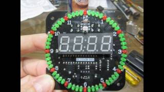 EC1515B LED Clock - Construction and Demonstration